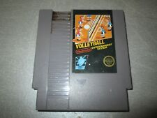 Vintage Original Nintendo Games NES Volleyball 5 Screw Tested and Working