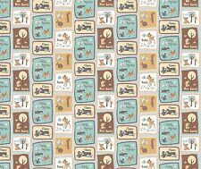 DISNEY BAMBI AND FREINDS PATCH FABRIC CP55607