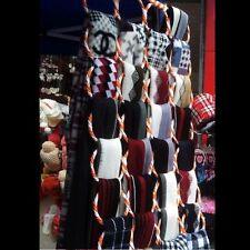 Multi Holes Scarf Hanger Wardrobe Organiser Storage Display Tie Belt Hook RF