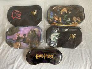 Hasbro 2001 HARRY POTTER Lot 5 Produits Dérivés NEUFS : TROUSSES Pencil Cases