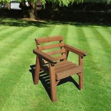 Garden Furniture / Patio Set Single Chair, Solid Wood