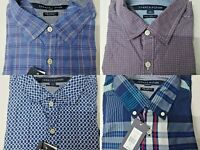 New with Tag Tommy Hilfiger Men's Long Sleeve New York Fit Casual Shirt Size S-L