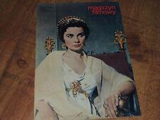 Magazyn Filmowy 48/1969 polish magazine Jean Simmons, Melina Mercouri, M. Schell