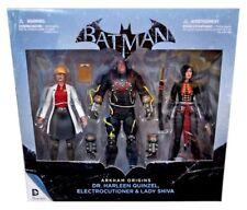 "BATMAN: Arkham Origins - 7"" Action Figure 3-Pack (DC Comics) #NEW"
