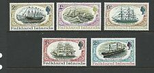 """1970 S.S. """"Great Britain"""" Restoration  set of 5 Mint Hinged"""
