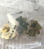 McDonald's Crew Teenie Beanie Babies TY Exclusive Staff Pin International Bears