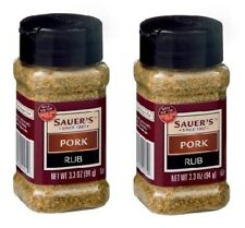 Sauer's Pork Rub 2 Bottle Pack