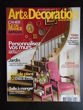"""Art & décoration"" n°468 avril 2011"