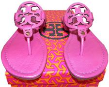 Tory Burch Miller Thong Sandal Pink leather shoe Flip Flop 5.5 - 35.5