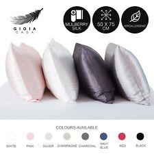1Pc Gioia Casa 100% Mulberry Silk Pillowcase Standard Bedding Pillow Case Cover