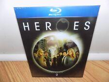 Heroes - Season 2 (Blu-ray Disc, 2008, 4-Disc Set) BRAND NEW, SEALED