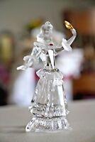 SWAROVSKI CRYSTAL COLUMBINE 2000 MASQUERADE Lady FIGURINE RETIRED