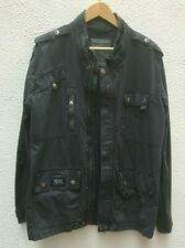 Mans Diesel Jacket XXL Blue 46 Utility Cotton Military Field Zip Safari 117 cm