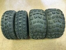 Set of Four Kenda Kutter 19-6-10 front & 18-10-9 Rear ATV Tires 4 ply Sport NEW