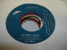 HEAR! Doo Wop Teen Rare 45 JOHNNY HALO Errand Boy on Southern Sound