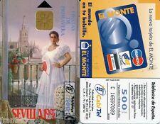 CP - 88  FIESTA DE PRIMAVERA  SEVILLA 1997 / SPAIN  PHONECARD