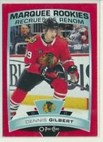 2019-20 O-Pee-Chee Marquee Rookies RED 529 Dennis Gilbert Chicago Blackhawks