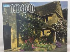 Cotswold England 1000 Piece Jigsaw Puzzle New Guild Pieces 20X27 Cottage Hasbro