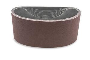 3 X 24 Inch 150 Grit Aluminum Oxide Multipurpose Sanding Belts, 4 Pack