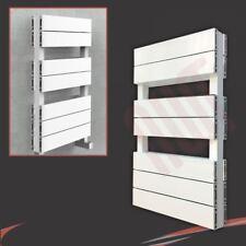 """500 mm (W) x 800 mm (H) """"flusso"""" doppio portasciugamani in alluminio bianco (3346 BTU)"""