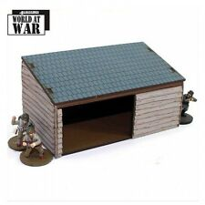 4GROUND - Cart shed & Wood store - 28mm - 28S-WAW-A07