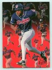1995 Ultra On Base Leaders #2 Albert Belle Indians (Insert 1:8 Jumbo)