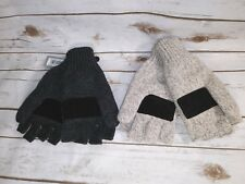 Igloos Men's the Sentry Mittens Oatmeal or Dark Gray One Size Free Shipping