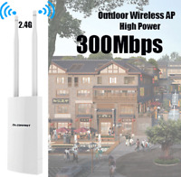 300Mbps 2.4G Outdoor Wifi AP Network Wireless Access Point Range Extender