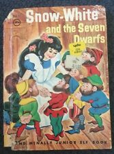 Snow White And The Seven Dwarfs (Junior Elf Book)