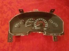 Speedometer Instrument Cluster Dash Panel Gauges 02 Ford Explorer Unknown Miles