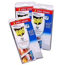 Raid Lebensmittel-Mottenfalle Pheromonfalle Motten 3x 3 Stück #GB
