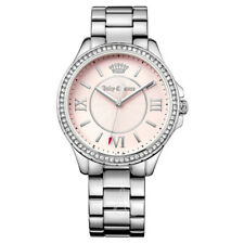 Women's Juicy Couture Gwen Crystal Stainless Steel Bracelet Watch 1901354