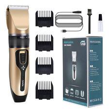Haarschneider Haarschneidemaschine Bartschneider Rasierer Keramik Trimmer LED