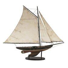 "Newport Yacht 39"" Built Wood Model Ship Sailboat  Assembled"