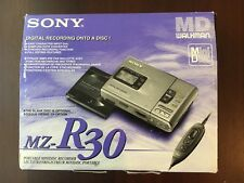 Sony MD Walkman MZ-R30 Portable MiniDisc Recorder Player With Original Box, New