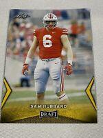 2018 Leaf Draft #55 Sam Hubbard - Gold Rookie Card RC