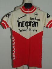 Maillot Vélo Haut Cyclisme Eroica Vintage 70'S Inoxpran Castelli 80% Laine