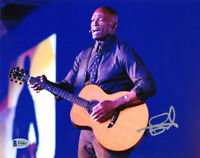 SEAL SIGNED AUTOGRAPHED 8x10 PHOTO CELEBRATED MUSICIAN VERY RARE BECKETT BAS