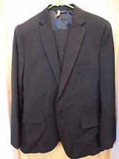 Men's Banana Republic Black Suit 2 Button Lanificio Cerruti 1881 40S Pants 30x30