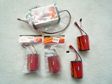 Hypersonic A123 Lithium Ion LIFEPO4 3 cells Battery pack (4-pk)  and charger set