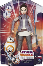 Star Wars Forces Of Destiny Rey Of Jakku & BB-8 New & Sealed FREE SHIPPING