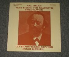 Max Bruch~Acht Stucke Fur Klarinette, Viola, Klavier~Roger Brugger~German IMPORT
