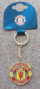 Manchester United Metal Keyring (Official Merchandise) - FREE POSTAGE!