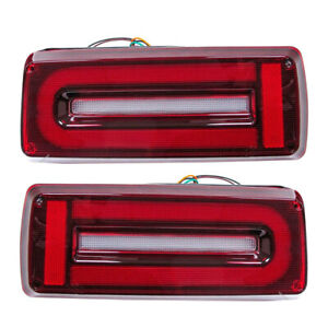 2x LED Tail Light Turn Signal Fit for Mercedes Benz G-Wagon W463 90-2018 AMG