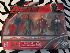 Marvel Avengers Age of Ultron Iron Man VS. Ultron Figure 3 pack Target Exclusive