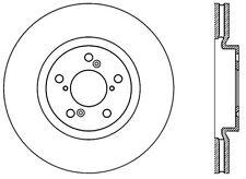 Centric Parts 120.40071 Front Premium Brake Rotor