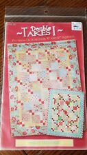 DOUBLE TAKES 1 QUILTING PATTERN, Layer Cakes From Anka's Treasures NEW