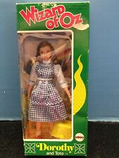Wizard of Oz Dorothy and Toto Doll MEGO 1974 WiZARD OF OZ DOROTHY & TOTO DOLL