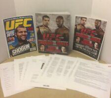 2010 UFC 128 MEDIA PRESS PACKET SHOGUN v JONES  MEDIA PACKAGE FOR REPORTERS