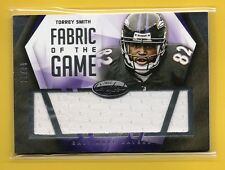 Torrey Smith 2014 Certified Fabric of the Game Jersey #28/99 - - - MINT - - -